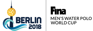 Logo FINA Men's Water Polo World Cup 2018 - Berlin (GER)